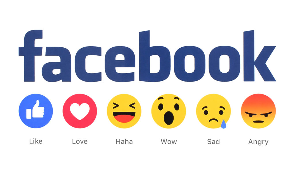 facbebook like emoji options